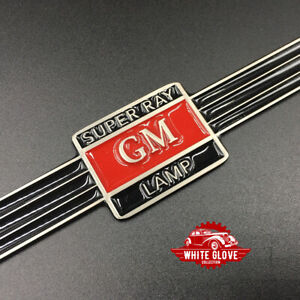 Gm Super Ray Guide Light Strap Red Center With Black Band
