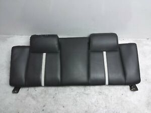 2010 2014 Ford Mustang Convertible Rear Upper Back Leather Seat Portion