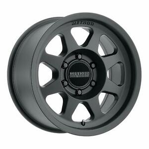 Method Race Wheels Mr701 17x7 5 50mm Offset 5x160 65mm Matte Black