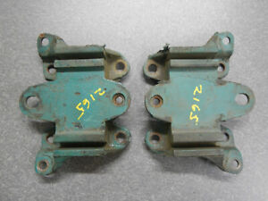 364 Buick Nailhead Engine Motor Mount Pair 1957 1958 Pair Engine Mount 57 58