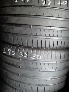 Nice Used Tires 295 35 20 Michelin