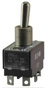 Eaton Xtd4b1a Toggle Switch dpdt 10a 277v quikconnct
