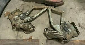 1960 1961 Dodge Plymouth Desoto Chrysler Hood Hinges Springs