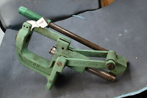 RCBS ROCK CHUCKER RELOADING PRESS used well worn working $170.00
