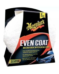 Meguiars X3080 Even Coat Microfiber Polish Wax Applicator 2 Pack