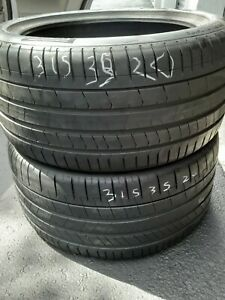 Very Nice Set Of Used Tires 315 35 20