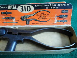 VINTAGE LYMAN IDEAL 310 RELOADING TOOL 7MM MAUSER IN ORIGINAL FACTORY BOX $149.99