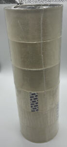6 Rolls Industrial Tape 2 Mil 2 X 55 Yds Clear Packing Tape Free Shipping