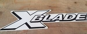 Fisher Minute Mount Snow Plow Xblade X Blade Decal