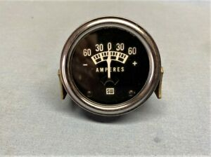 Stewart Warner Amp Amperes Gauge 827477 Chevy ford dodge hot Rod rat Rod