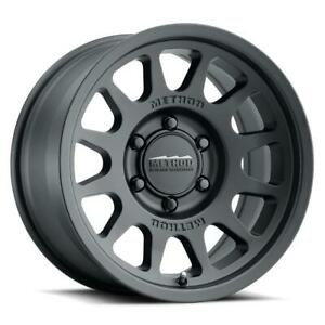 One 17x7 5 Method Mr703 5x160 50 Black Wheel Rim 65