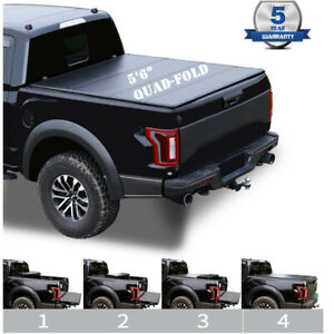 5 5 Ft Hard Tri Fold Truck Bed Cover For 09 18 Ram 1500 2500 Pickup