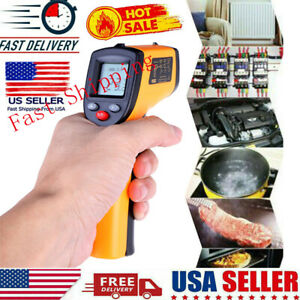 Digital Thermometer Infrared Temperature Gun Non contact Ir Laser Point 58 626