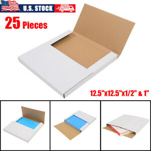 25 Pcs Premium Lp Record Album Book Box Catalog Mailers Boxes Variable Depth Us