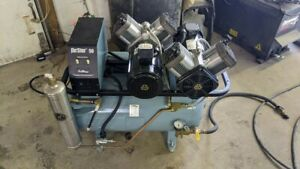 Air Techniques Airstar 50 Dental Air Compressor Unit Low Price Used 230v