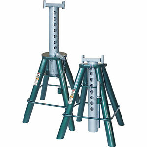 Safeguard 10 ton Extra high Stands 1 Pair Model 63102