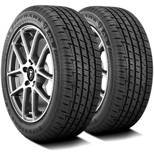 2 New Firestone Firehawk As 215 60r17 96h A s Performance Tires