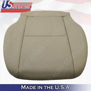 Driver Bottom Perforated Seat Cover Beige For Mercedes C250 C300 C350 2011 2012