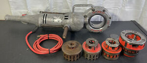 Ridgid Power Pony 700 12 Pipe Threader W dies Great Working 1 8 1 2 3 4 2 Dies