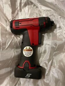 Snap on 14 4v 1 4 Screw Gun Cts761a new Includes 1 Used Battery Ctb8172g