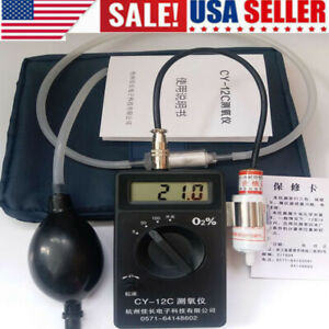 Portable O2oxygen Concentration Content Tester High Accuracy Digital Instrument