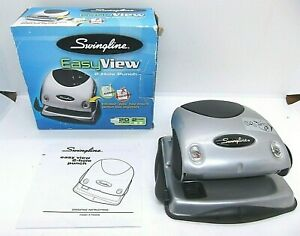 Swingline Easy View 2 Hole Punch 20 Sheet Capacity 74055