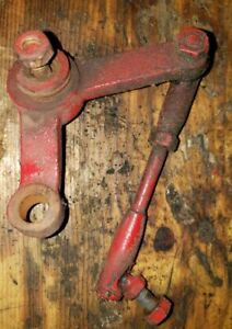 Massey Harris 44 Tractor Throttle Linkage Rod Pivot Arm Assembly Mh Parts