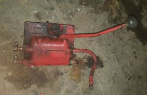 Massey Harris 44 Special Tractor Shift Lever Cover Asembly Pto Complete Cover