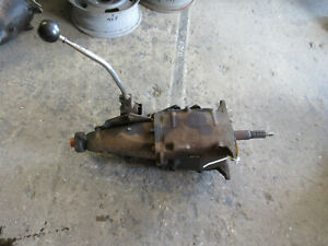 1960s Gm Chevy Saginaw 3 Ring 3 Speed Transmission Cheverolet 11