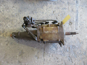 1960s Gm Chevy Saginaw 3 Ring 4 Speed Transmission Cheverolet 13