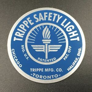Light Blue Trippe Light Badges Pair Of Two