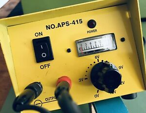 Aps 415 Regulated Switching Dc Power Supply 117v Ac 60hz 80w 3 15vdc