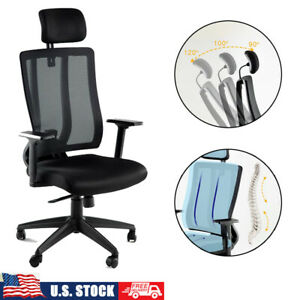 Home Office Chair Ergonomic Executive Computer Desk Seat Task Mesh Chairs 360