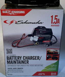 Schumacher Se 1 12s 1 5a 6 12v Fully Automatic Battery Maintainer
