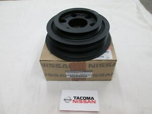 Genuine Nissan Skyline R33 Rb25det Crank Pulley Harmonic Balancer 12303 75t00