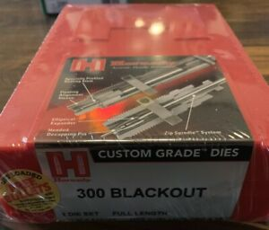 Hornady 300 Blackout Full Length Reloading Dies New In Box Not rcbs lee $72.50