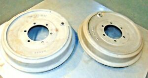 Set Of Mowog Brake Drums Atb 4165 Wire Wheel Mga Nice Clean Prepped s3