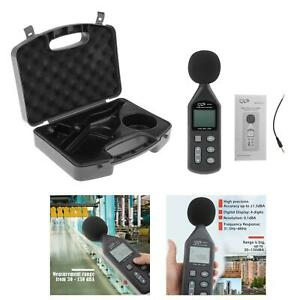 Noise Sound Level Meter 30 130db Digital Decibel Moniter Tester Lcd Display With