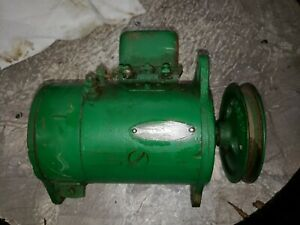 Oliver 60 Tractor Good Working 6v Generator With Belt Pulley 1101363 1h20