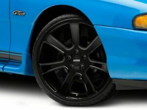 American Muscle Saleen Style Wheel In Black 20x9 Fits Ford Mustang 1994 1998