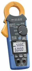 Hioki Cm4372 600a Ac dc Clamp Meter With Built in Bluetooth Wireless Technology