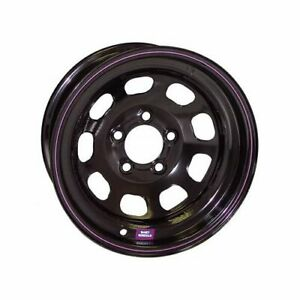 Bart Imca Competition Black With Purple Stripe Wheel 15 x8 5x4 5 Bc 5315812 2
