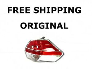2014 2015 2016 Oem Nissan Rogue Right Side Tail Light Clear Lens 265556fl0a
