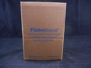 Fisher Disposable Glass 2ml Pasteur Pipets 5 75 Length Square Cut Ends 144 pack