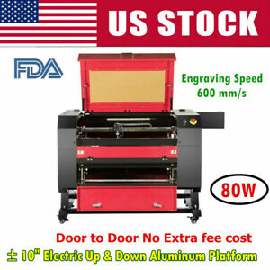 Us Stock 28 20 Efr 80w Co2 Laser Engraving Engraver And Cutter Machine Fda ce