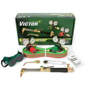 Victor 0384 2540 Medalist 250 540 510 Medium Duty Acetylene Cutting Torch Outfit