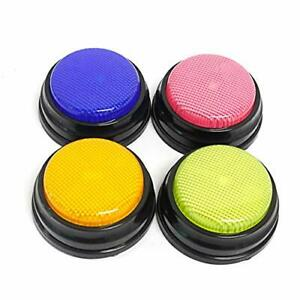 Learning Answer Buzzers recordable Talking Button With Led Function Learning An