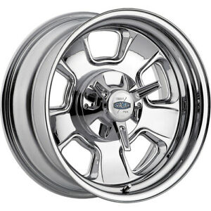 17x9 Cragar 390c Street Pro Chrome Wheels Rims 06 5x4 50 5x4 75 Qty 4
