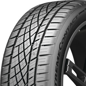 2 New 245 50zr18 100w Continental Extremecontact Dws06 Plus 245 50 18 Tires