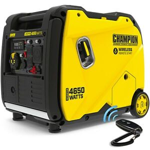 Champion 200993 3650 Watt Electric Start Inverter Generator W Rv Outlet